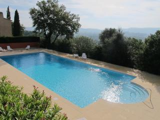 Villa with South Terrace, Pool and Stunning Views - Grimaud vacation rentals