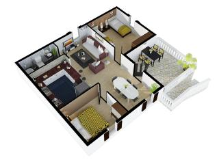 Bright 2 bedroom Condo in Bobovisca with Long Term Rentals Allowed (over 1 Month) - Bobovisca vacation rentals