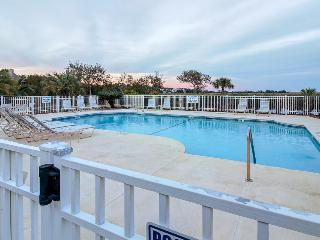 Stylish condo with marsh-facing balcony and shared pool! - Saint Simons Island vacation rentals