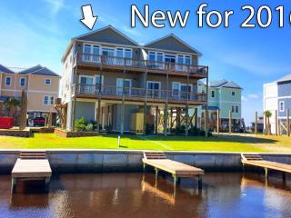 962B Towner Court | New Construction, Elevator, Deep Water Canal, Pool, Playground & Pet Friendly - Topsail Beach vacation rentals