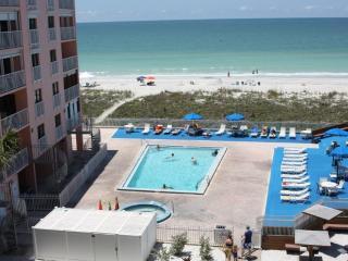 Reef Club 408; Beach Front; 3BR/2BA; Pool/Tennis - Indian Rocks Beach vacation rentals