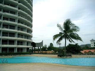 Pool view in Royal Rayong Condominium 100 to beach - Phe vacation rentals