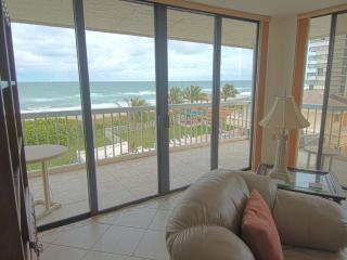 Beach Front Condo,  Hutchinson Island - Jensen Beach vacation rentals