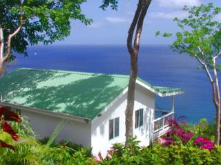 BANANA COTTAGE @ Nature's Paradise: AWESOME VIEWS! - Marigot Bay vacation rentals