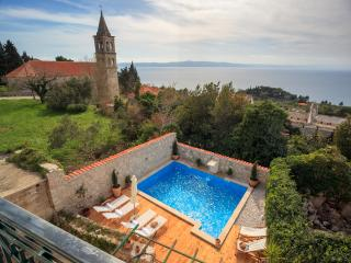 Beautiful stone villa with pool and amazing view - Podgora vacation rentals