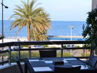 Apartment on la Salis beach with superb sea views - Antibes vacation rentals