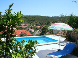 House and pool, with amazing panoramic views - Splitska vacation rentals