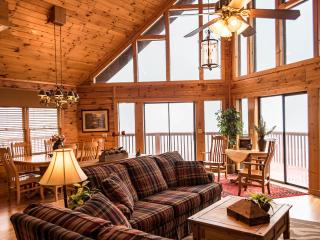 SPECTACULAR SMOKY MT. VIEW LUXURY CHALET 5 BR 3BTH - Sevierville vacation rentals