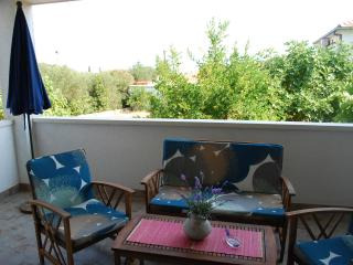 Apartments Tihana - Two Bedroom Apartment With Garden Terrace And Covered Terrace - Soline vacation rentals