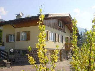 Villa di montagna circondata da un verde giardino. - Cavalese vacation rentals