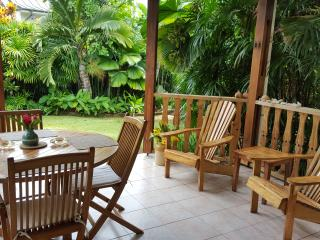 Ti La Kaz - Beautiful House with private garden - Au Cap vacation rentals