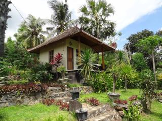 Bali Bungalow 1 with sea view and restaurant - Seraya Barat vacation rentals