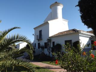 Commanding views across the gardens to the sea - Nerja vacation rentals