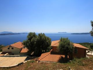 Villas Balcony, 2 swimming pools, calm and sea to infinity. - Sivota vacation rentals
