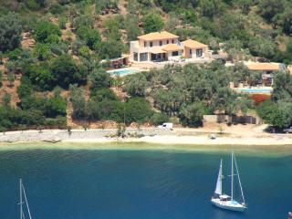 "Villa Sivota, Exclusive Villa on the Beach with 99"" Underground Cinema - Sivota vacation rentals"