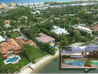 Waterfront Estate with private beach and dock - Manalapan vacation rentals