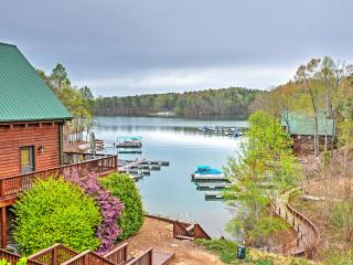 Lakefront 4BR Six Mile House w/Boat Dock, Massive Decks & Phenomenal Water Views - Unbeatable Lake Keowee Location! Easy Access  - Newry vacation rentals