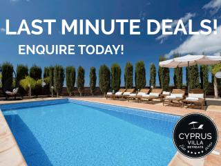 Luxury 5* Villa, Private HEATED Pool, HOT-TUB,WIFI - Peyia vacation rentals