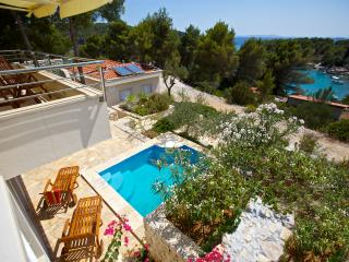 Get away from it all villa with pool and garden - Cove Makarac (Milna) vacation rentals
