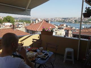 Sea view terrace and Historic Apartment & Quarter - Istanbul vacation rentals