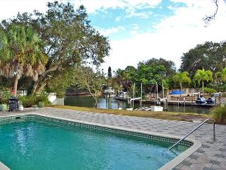 Spacious Siesta Key Canal Front Vacation Rental House with Large Heated Pool - Siesta Key vacation rentals