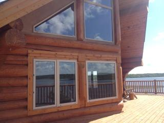 Waterfront Log Cabin with a Spectacular View - Rossburn vacation rentals