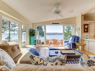 High-bank waterfront home w/ Puget Sound & wildlife views! - Freeland vacation rentals