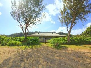Paradise House - w/ AC, beachfront, w/ lanai - Haleiwa vacation rentals