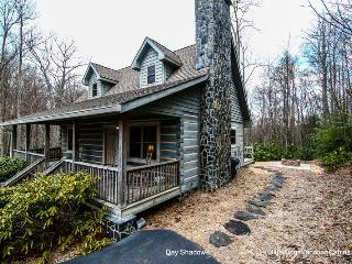 SUMMER SALE*Walk to Hebron Falls*Log Cabin 4 acres - Boone vacation rentals