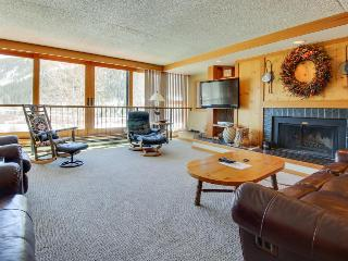 Summit County ski lodge w/slope view & resort pool & hot tub - Keystone vacation rentals