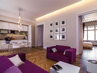 Karoly Premium Deco Suite, WiFi, AC, 2 BR, 2 BA next to Great Synagogue - Budapest vacation rentals