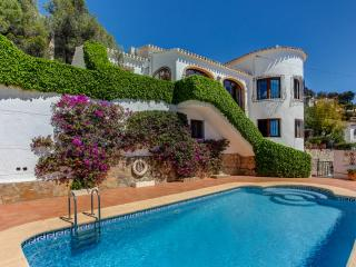 Villa Rafalet in Javea , sleeps 8, wifi, air con - Javea vacation rentals