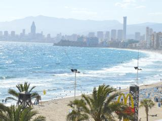 Benidorm Beach Apartment Sea & Beach Views & UK TV - Benidorm vacation rentals