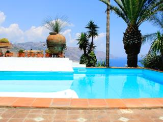 PANORAMIC APARTMENT with large terrace pool and view - Taormina vacation rentals