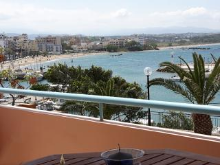 Seaview, elegant APT by sandy beach & Chania city - Chania vacation rentals