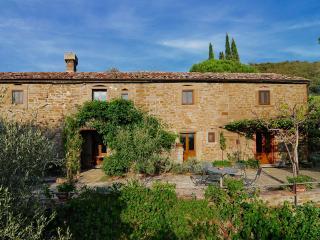 Large Stone Farmhouse in the Hills Near Cortona - Villa Eleonora - Cortona vacation rentals
