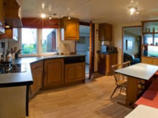 Family Chalet with stunning sea views - Rhiw vacation rentals