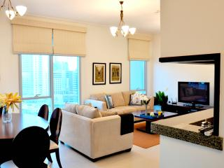 Superb Access to Beach, Mall, Tram & Marina Walk! - Dubai vacation rentals