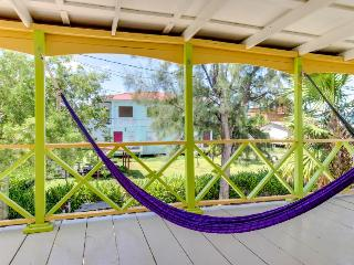 Colorful,  relaxing, & ocean front island villa near beach and town! - Caye Caulker vacation rentals