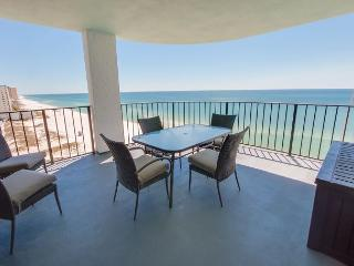 [FREE TICKETS to Local Attractions.  Large Private Balcony and Gulf front! - Panama City vacation rentals