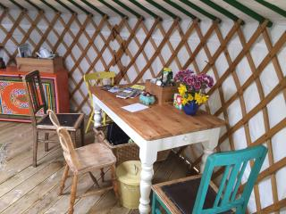 1 bedroom Yurt with Water Views in Gigha - Gigha vacation rentals