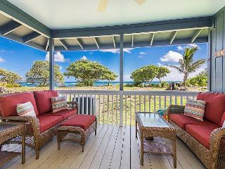 Hale Makai Beachfront Home, AC, newly remodeled, beachfront on Anahola Bay - Anahola vacation rentals