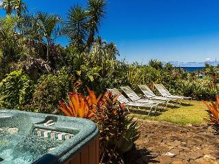 Kauai Gardens Estate, Ocean Views, Walk to Beach, Private Suites, 4 Hot Tubs! - Anahola vacation rentals