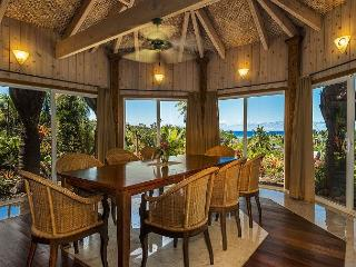 Kauai Gardens Estate, Private Ocean View Retreat on Anahola Bay, 4 Hot Tubs! - Anahola vacation rentals