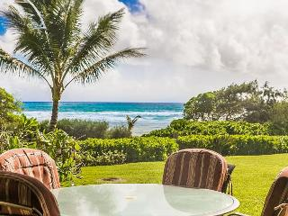 Kaha Lani Resort #119, Oceanfront, Steps to Beach, Free Wifi & Parking - Lihue vacation rentals