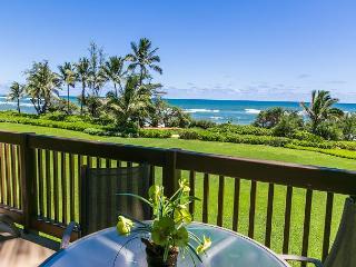 Kaha Lani Resort #218, Oceanfront, Steps to Beach & Coastal Path, Top Floor - Kapaa vacation rentals