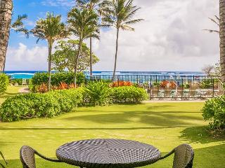 Kapaa Shore Resort  #118, Ocean View, King Bed, Complimentary Wifi & Parking - Kapaa vacation rentals