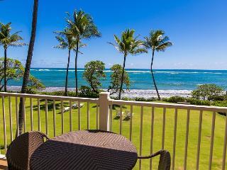 Kapaa Shore Resort #202, Oceanfront near beaches, shops, restaurants and more - Kapaa vacation rentals