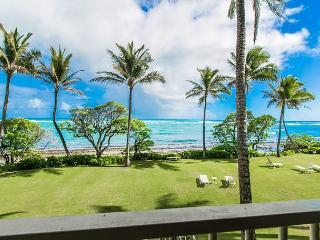 Kapaa Shore Resort #207, Oceanfront, 2nd Floor, New Cal King Bed, Wifi - Kapaa vacation rentals