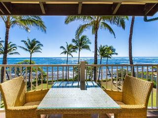 Kapaa Shore Resort #305, Oceanfront, Views, Near Shops, Restaurants & Beaches - Kapaa vacation rentals